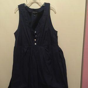 Navy Tank Dress
